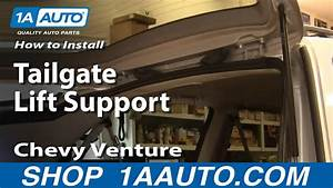How To Replace Lift Support 97-05 Chevy Venture