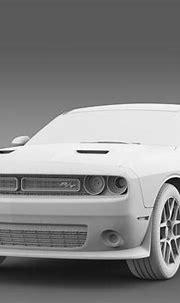 Dodge Challenger RT Scat Pack LC 2015 3D Model .max .obj ...