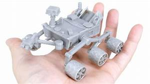 3D Print Your Own Mars Curiosity Rover, Available Free ...