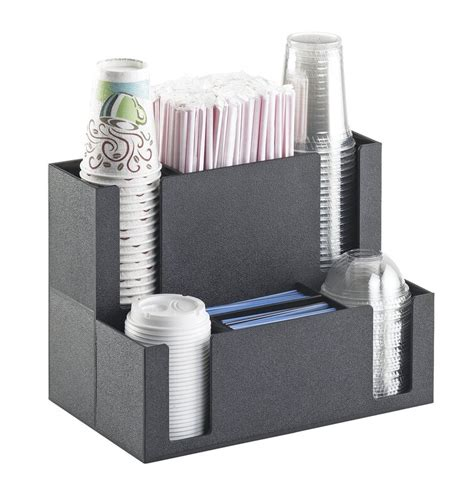 Organize your cups and lids with our racks and countertop. Cal-Mil Coffee Station Organizer & Reviews | Wayfair