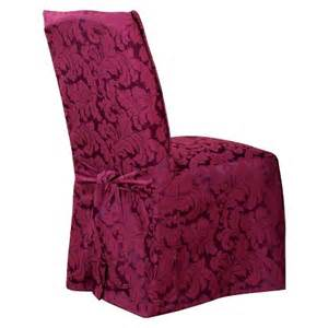 sure fit scroll long dining room chair slipcovers target