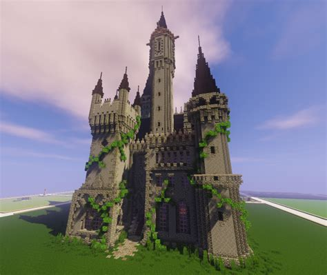 gothic castle minecraft project