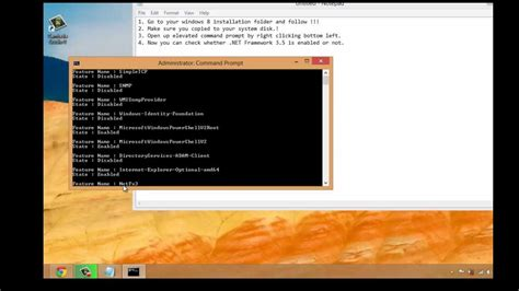 How To Install .net Framework 3.5 In Windows 8 Without
