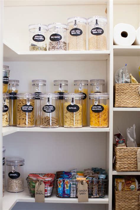 kitchen organization containers walk in pantry design decor photos pictures ideas 2356