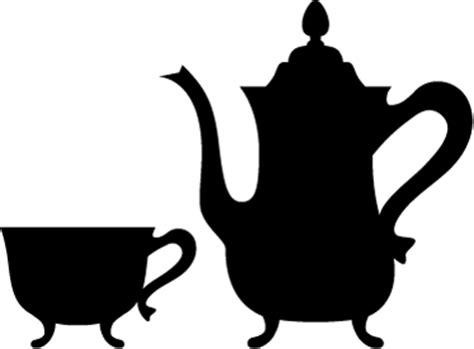 cuisine design surface vintage teapot wall sticker tenstickers