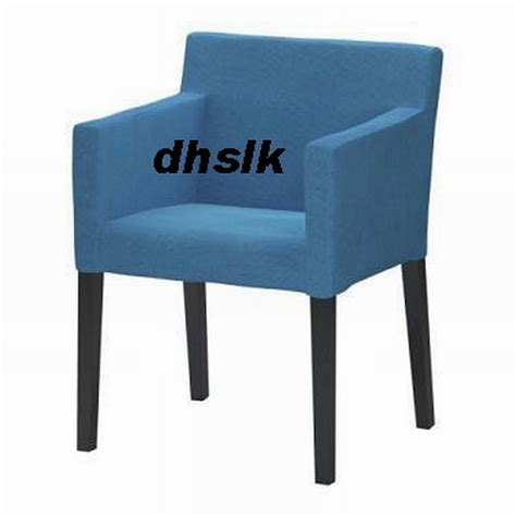 Ikea Nils Dining Chair Covers by Ikea Nils Chair W Armrests Slipcover Cover Korndal Blue