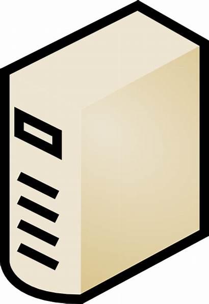 Computer Clip Case Clipart Server Icon Parts