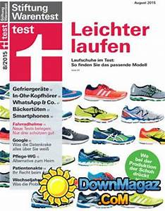 Stiftung Warentest Bürostühle 2015 : stiftung warentest 8 2015 download pdf magazines deutsch magazines commumity ~ Bigdaddyawards.com Haus und Dekorationen