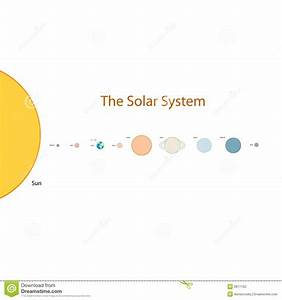 Easy Solar System Illustration Stock Vector - Image: 6917162