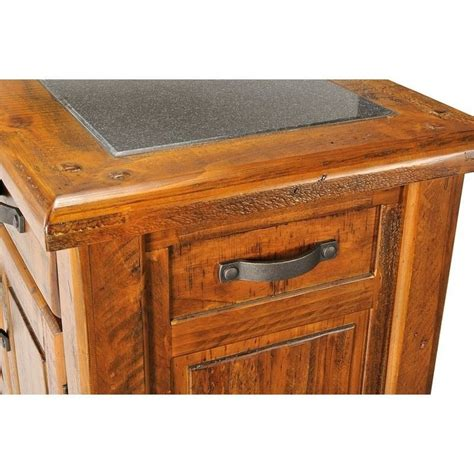 solid wood kitchen islands farmhouse solid wood chopping block kitchen island buy 5613