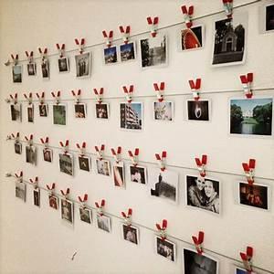 Fotos Aufhängen Ideen : ber ideen zu polaroid wand auf pinterest ~ Lizthompson.info Haus und Dekorationen