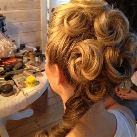 Victorian shoot updo Victorian hairstyles Long hair