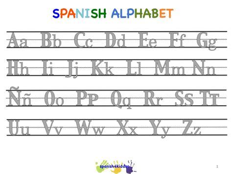 spanish alphabet writing lesson spanishkiddos