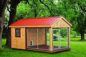 build your dog a kennel we have used exterior grade With dog house and kennel