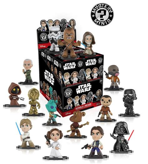 Funko Announces Star Wars Mystery Minis Coming In August