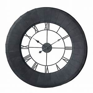 Horloge Murale Maison Du Monde : horloge murale fer maison du monde id e inspirante pour la conception de la maison ~ Teatrodelosmanantiales.com Idées de Décoration
