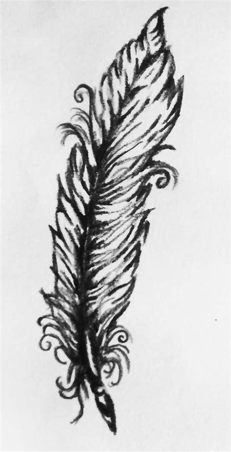 feder vorlage sketch feather 2012 schwarz wei 223 feder vorlage