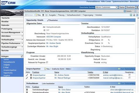 Sap CRM Analysis, Reviews, Pricing, Features | CRM Directory