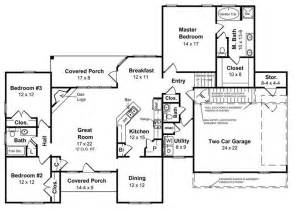 house plans with walk out basements ranch style homes the ranch house plan makes a big comeback