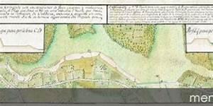Plano Y Perfiles De La L U00ednea De Defensa De Valdivia  Construido Seg U00fan El Proyecto Aprobado Por