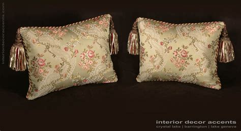 custom design pillows lee jofa silk angelina lampas