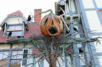 Halloween Jersey Towns Cape Celebrate Scarecrow
