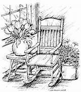 Coloring Pages Patterns Pencil Adult Wood Burning Porch Books Sheets Drawings Colouring Spring Sketches Stencils Printable Easy Fall Drawing Landscape sketch template