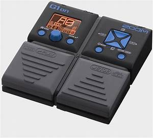 G1on Guitar Multi-Effects Processor | Zoom