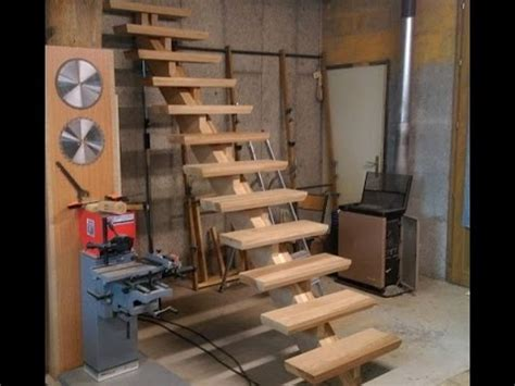 fabrication d un escalier partie 2 build an oak staircase part2