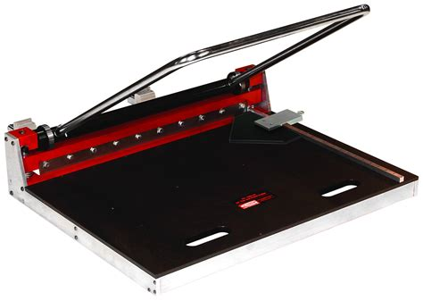 tile flooring tools gundlach 1205 24 quot plank and tile cutter for sale