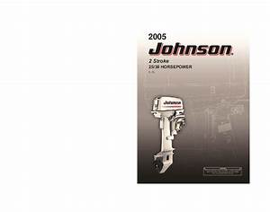 2005 Johnson 25 30 Hp E El 2