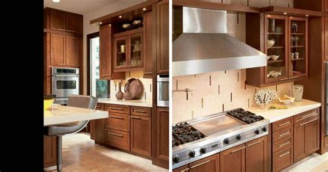 american woodmark kitchen cabinets american woodmark cabinets in cherry spice with 4045