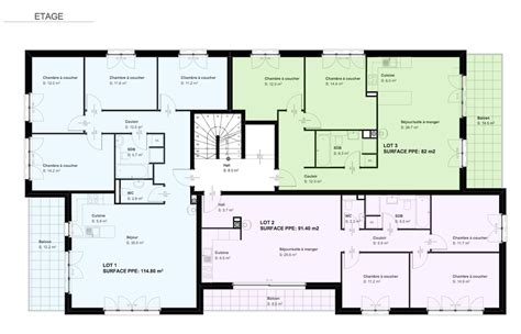 cuisine fust 6 appartements en ppe sur plans