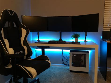fully redesigned 2017 gaming setup salas de videogame