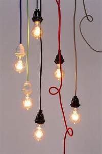 Fabric cord kit pendant lighting home and urban outfitters