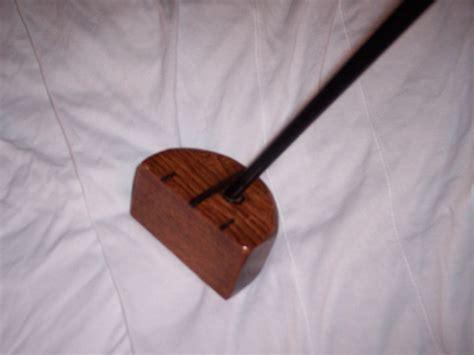 homemade wooden putter woodworking blog