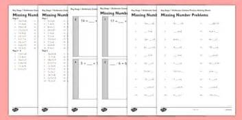 ks1 arithmetic content practice missing number
