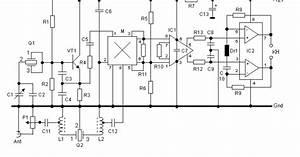 Wiring Schematic Diagram  40 M Band Direct Conversion Receiver