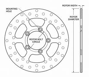 wilwood disc brakes rotor no 160 2182 With brake rotor diagram