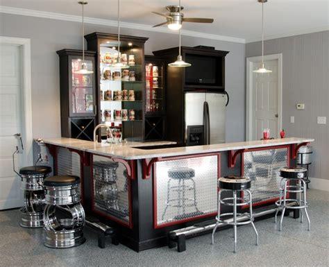 garage bar ideas hill residence garage bar