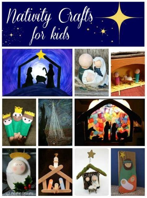 nativity crafts  kids fun family crafts