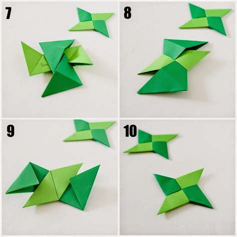 printable instructions  origami ninja star easy
