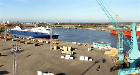 Ventspils Port - Harbours review