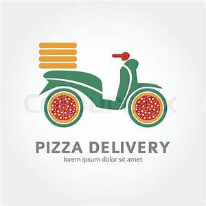 Pizza Delivery logo design. Logotype of food delivery ...