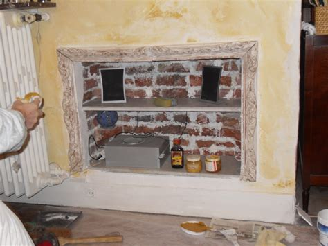 chemin馥 cuisine ancienne déco de cheminée ancienne