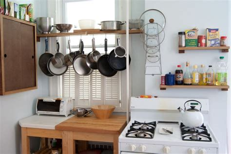 Kitchen Storage Ideas For Small Spaces-kitchen