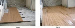 Dalles Beton Terrasse : dalle terrasse beton ~ Melissatoandfro.com Idées de Décoration