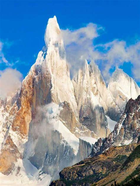 Cerro Torre Patagonia Mountains Pinterest