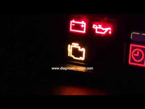 volvo engine management warning light   diagnose