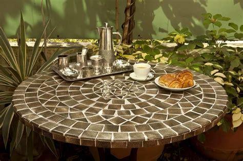 mosaic table 120 cm